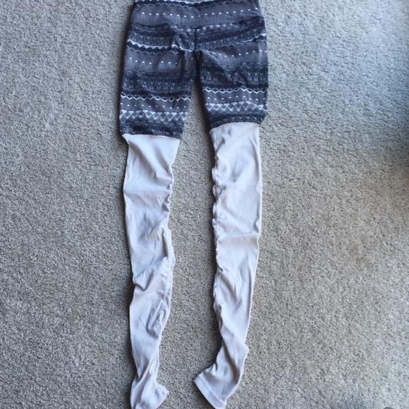48% off ALO Yoga Pants - Alo Yoga Fair Isle Goddess Legging from ...